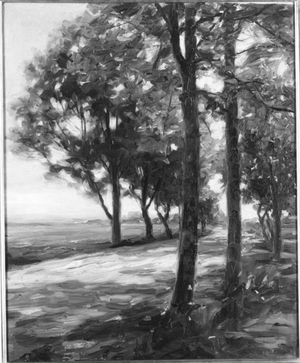 Straße bei Viktring
