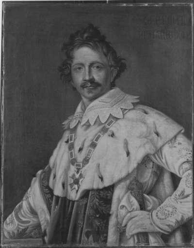 König Ludwig I. von Bayern im Krönungsornat (nach Stieler)