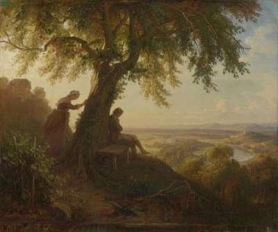 """Aus Goethes """"Hermann und Dorothea"""""""
