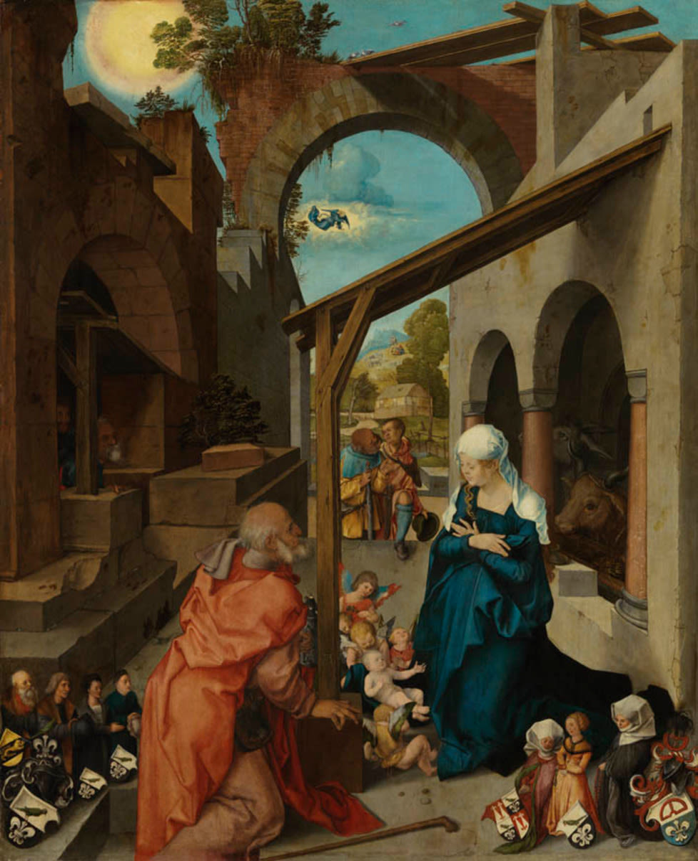 Paumgartner-Altar: Geburt Christi
