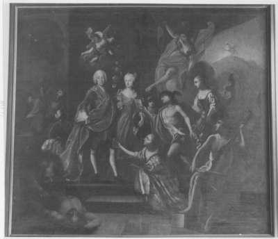 Bayern huldigt dem Kurfürsten Max III. Joseph