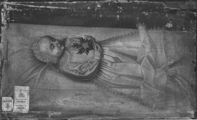 Friedrich, Kind des Pfalzgrafen Johann Friedrich, auf dem Totenbett