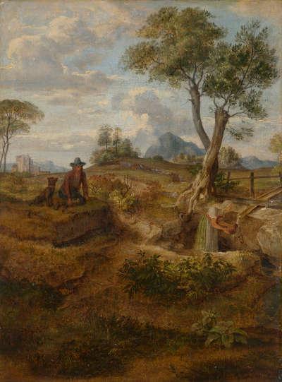 Brunnen in der Campagna