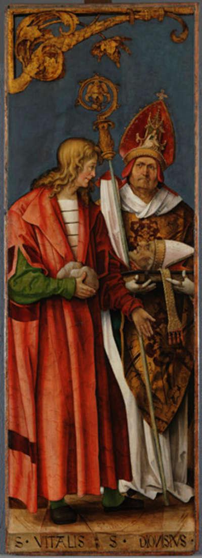 Annenaltar: Die hll. Vitalis und Dionysius