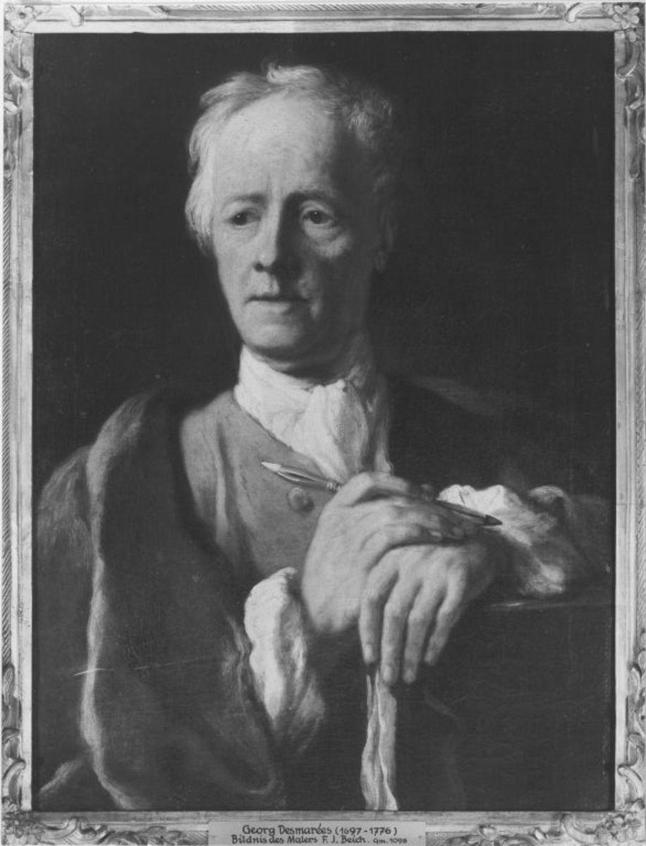 Bildnis des Malers Franz Joachim Beich