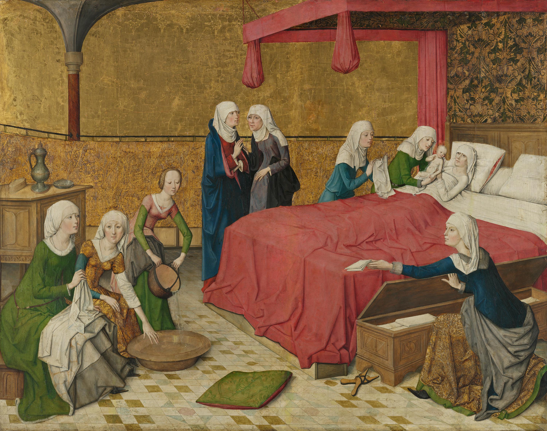 Marienleben: Geburt Mariens