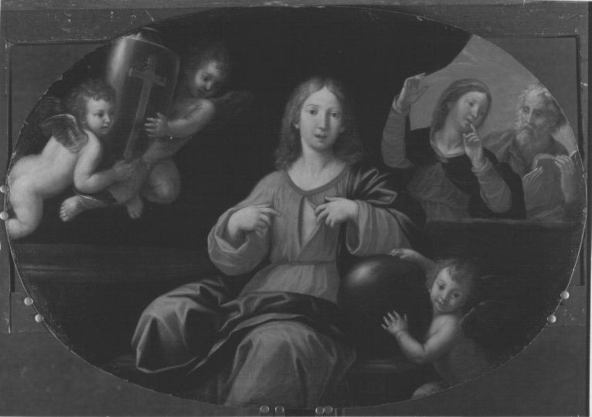 Christus als Knabe mit Maria und Joseph