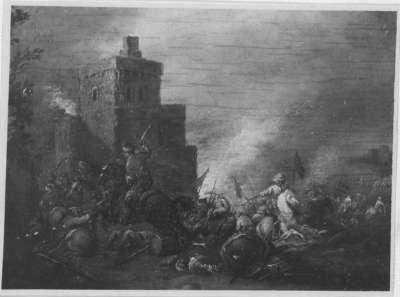 Reitergefecht gegen Türken