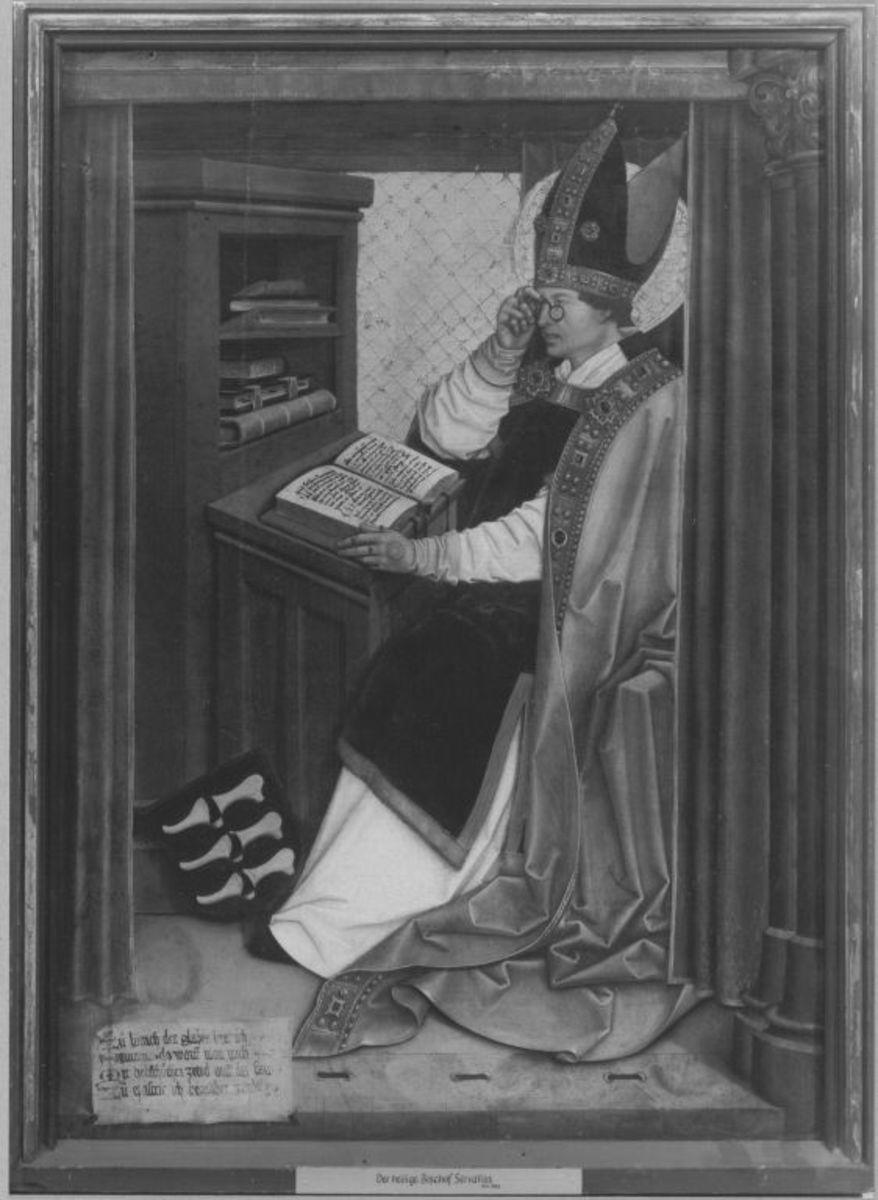 Mindelheimer Sippenaltar: Hl. Servatius