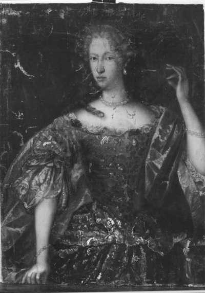 Bildnis der Kurfürstin Elisabeth Amalie Magdalena von Hessen, Gemahlin des Herzogs von Neuburg