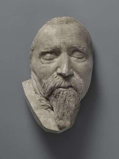 Totenmaske von Friedrich von Hefner-Alteneck (1845-1904)