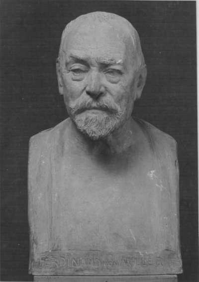 Der Bildhauer Ferdinand von Miller
