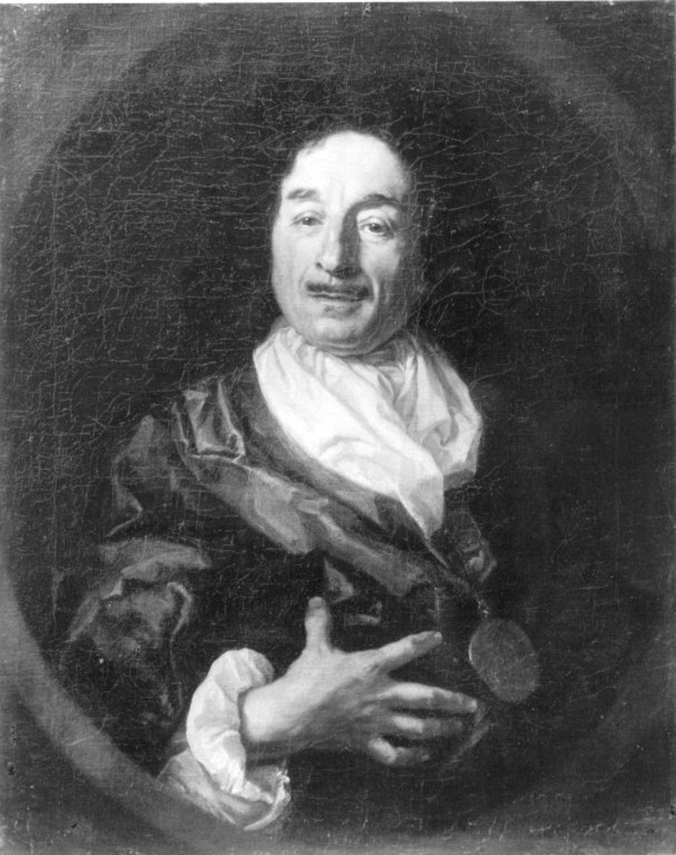 Bildnis des Malers Christoph Ludwig Agricola (1667-1719)