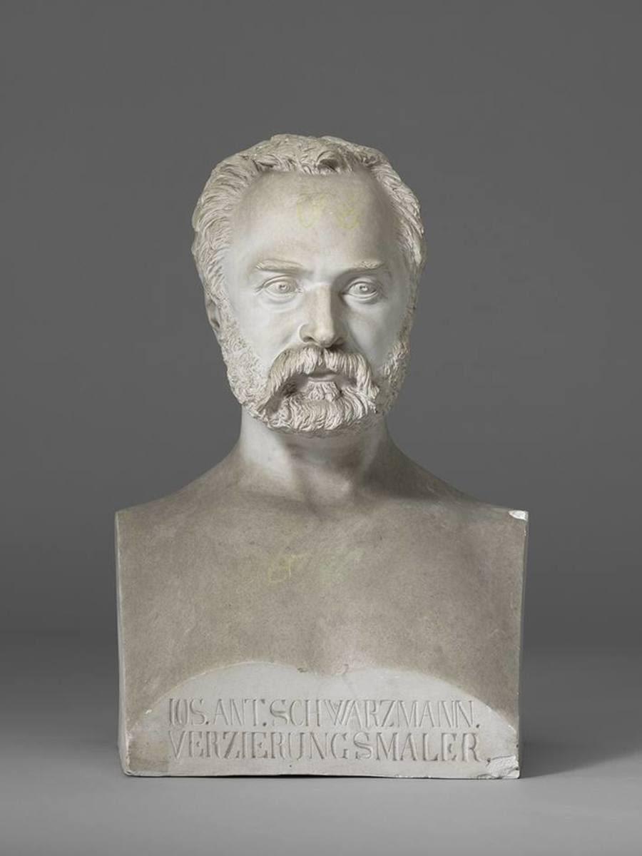 Der Ornament- und Dekorationsmaler Joseph Schwarzmann (1806 - 1890)