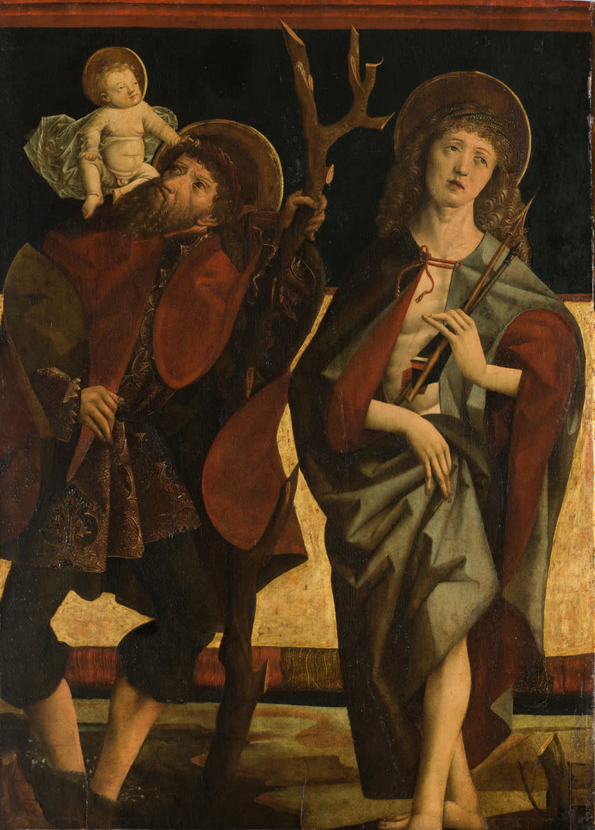 Hll. Christophorus und Sebastian