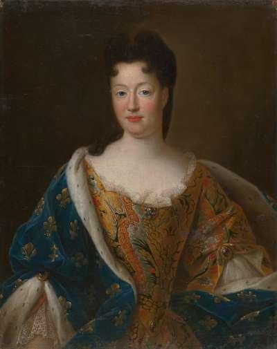 Bildnis einer französischen Fürstin