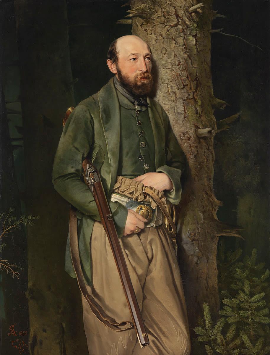 Der königliche sächsische Forstinspektor Carl Ludwig von Schönberg