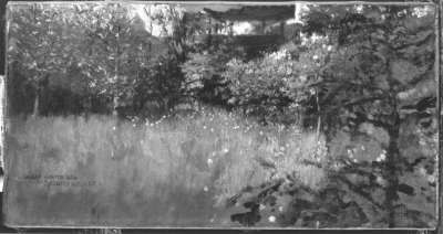 Im Garten des Künstlers
