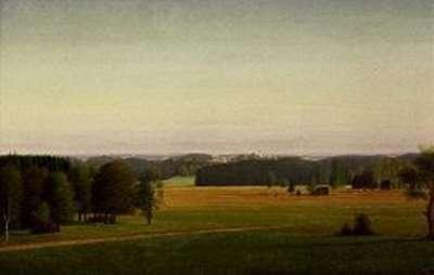Landschaft bei Münsing