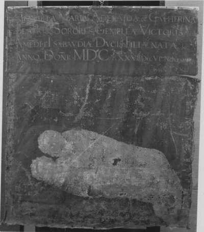 Henriette Adelaide und Catharina Beatrix von Savoyen als Wickelkinder