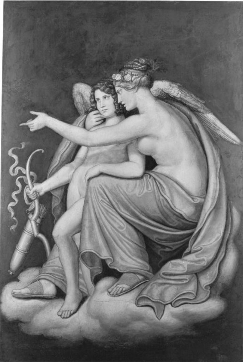Das Märchen von Amor und Psyche: Venus und Amor