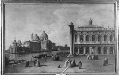 Piazetta mit Blick auf Santa Maria della Salute