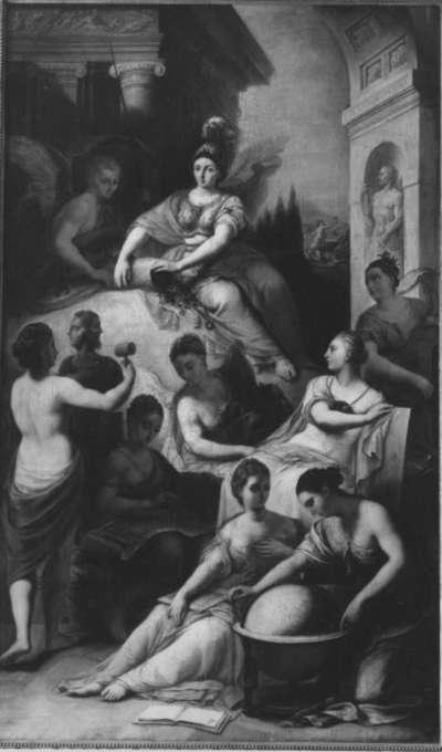 Pallas Athena mit den Sieben Freien Künsten