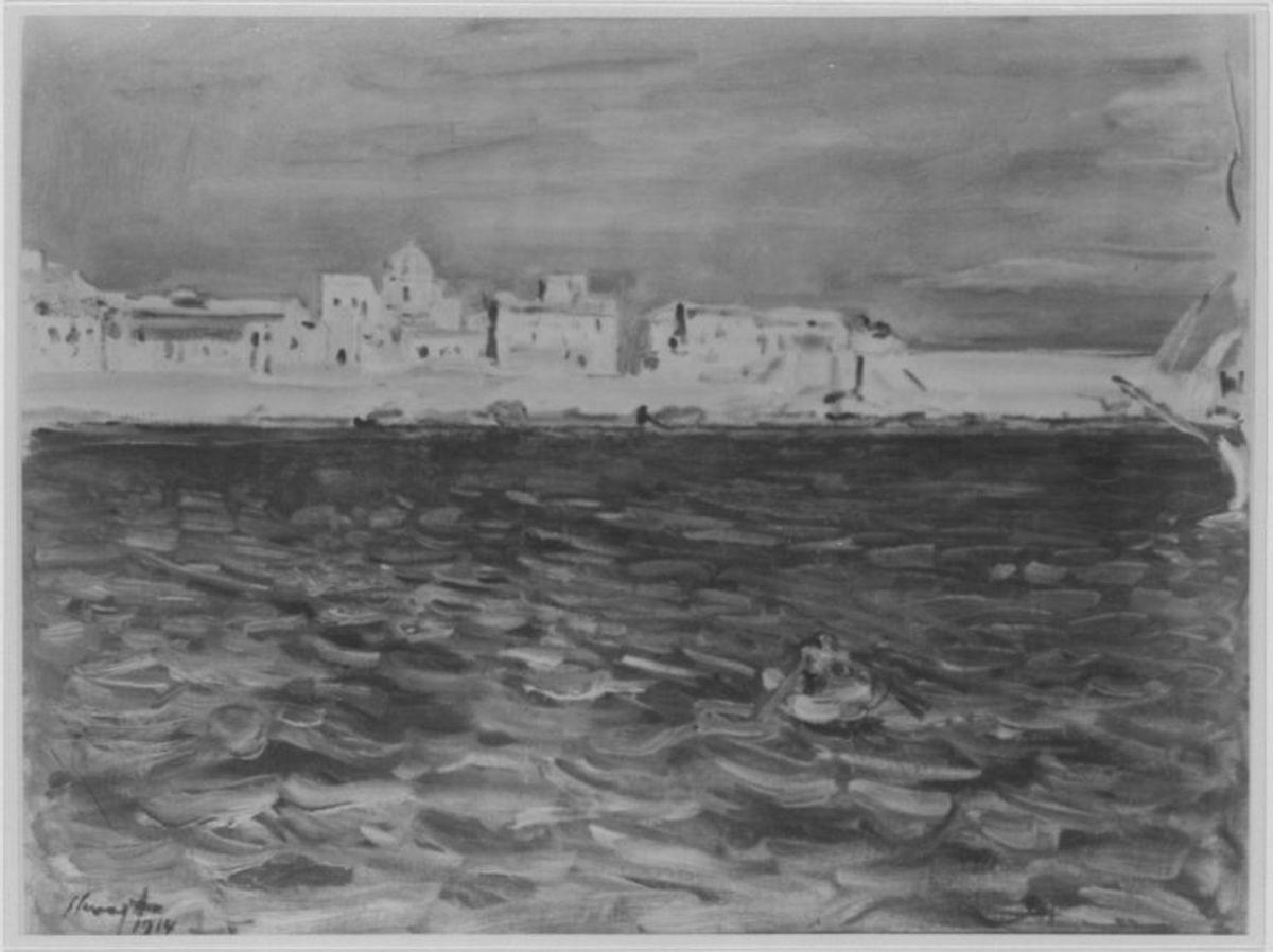 Einfahrt in den Hafen von Syrakus