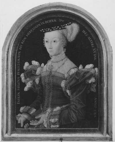 Bildnis Pfalzgräfin Helene, Tochter des Pfalzgrafen Johann II. von Simmern-Sponheim