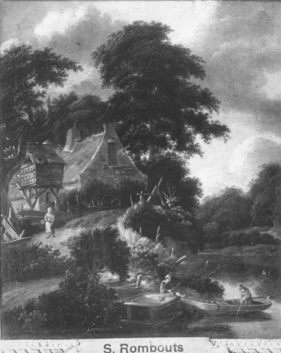 Bauernhof mit Taubenhaus