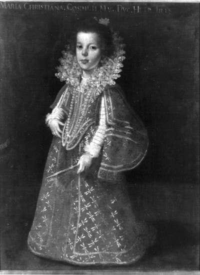 Kinderbildnis der Prinzessin Maria Christina von Toskana