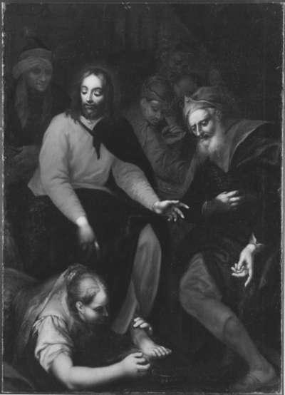 Christus und Magdalena im Hause Simon