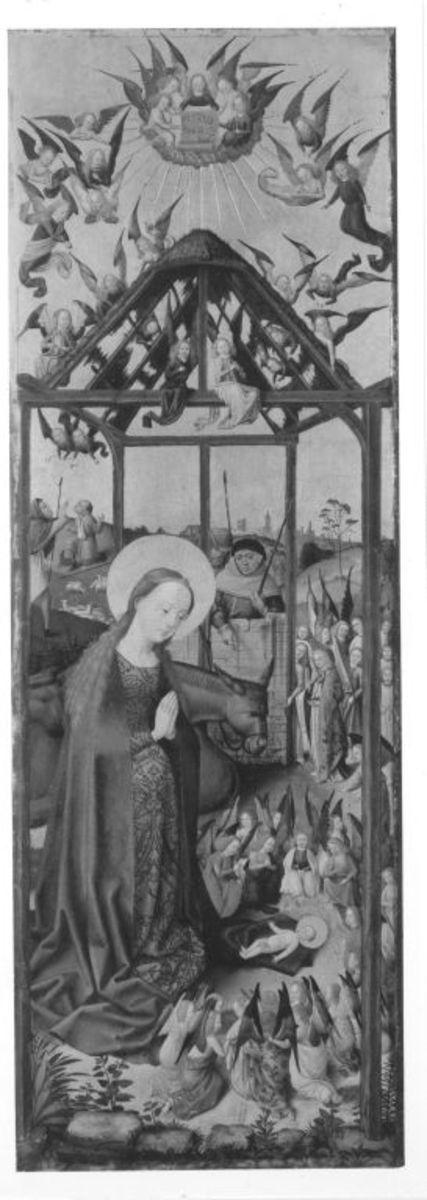Sieben-Freuden-Altar: Geburt Christi