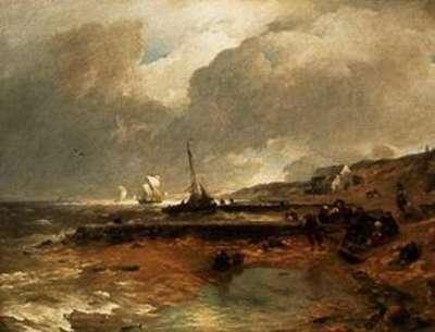 Strandszene