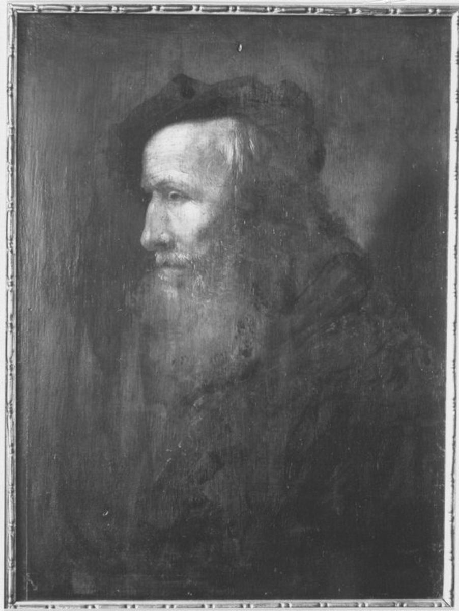 Bildnis eines graubärtigen Mannes