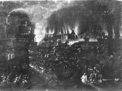 Der Brand von Troja