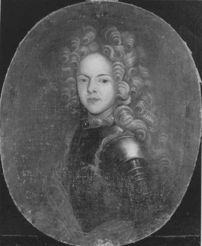 Bildnis eines jungen Mannes im Harnisch