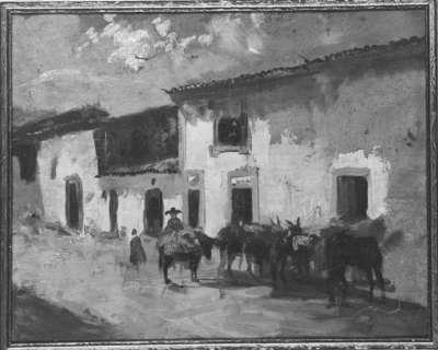 Portugiesische Studie II - Gasthaus in Portalegre