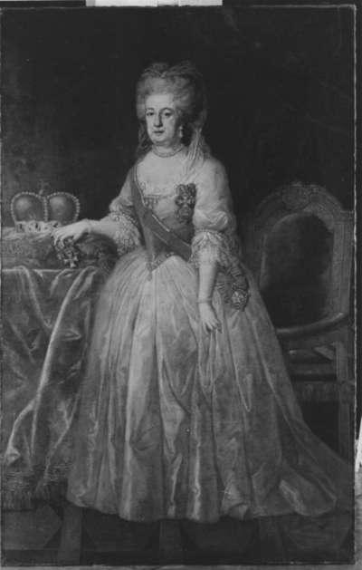 Bildnis der Kurfürstin Elisabeth Auguste von Pfalz-Bayern (1721-1794)