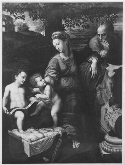 Heilige Familie unter der Eiche