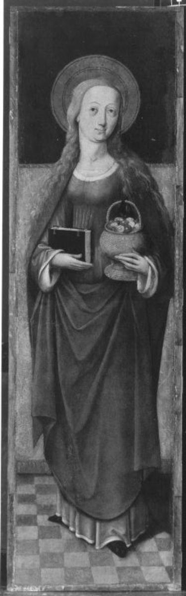 Altarflügel: Hl. Dorothea