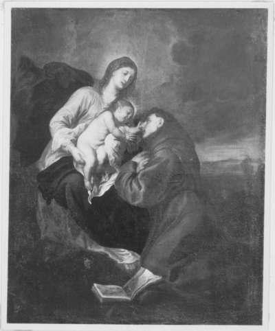 Vision des hl. Antonius von Padua (nach van Dyck)