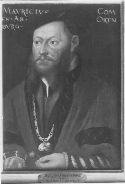 Graf Moritz von Ortenburg
