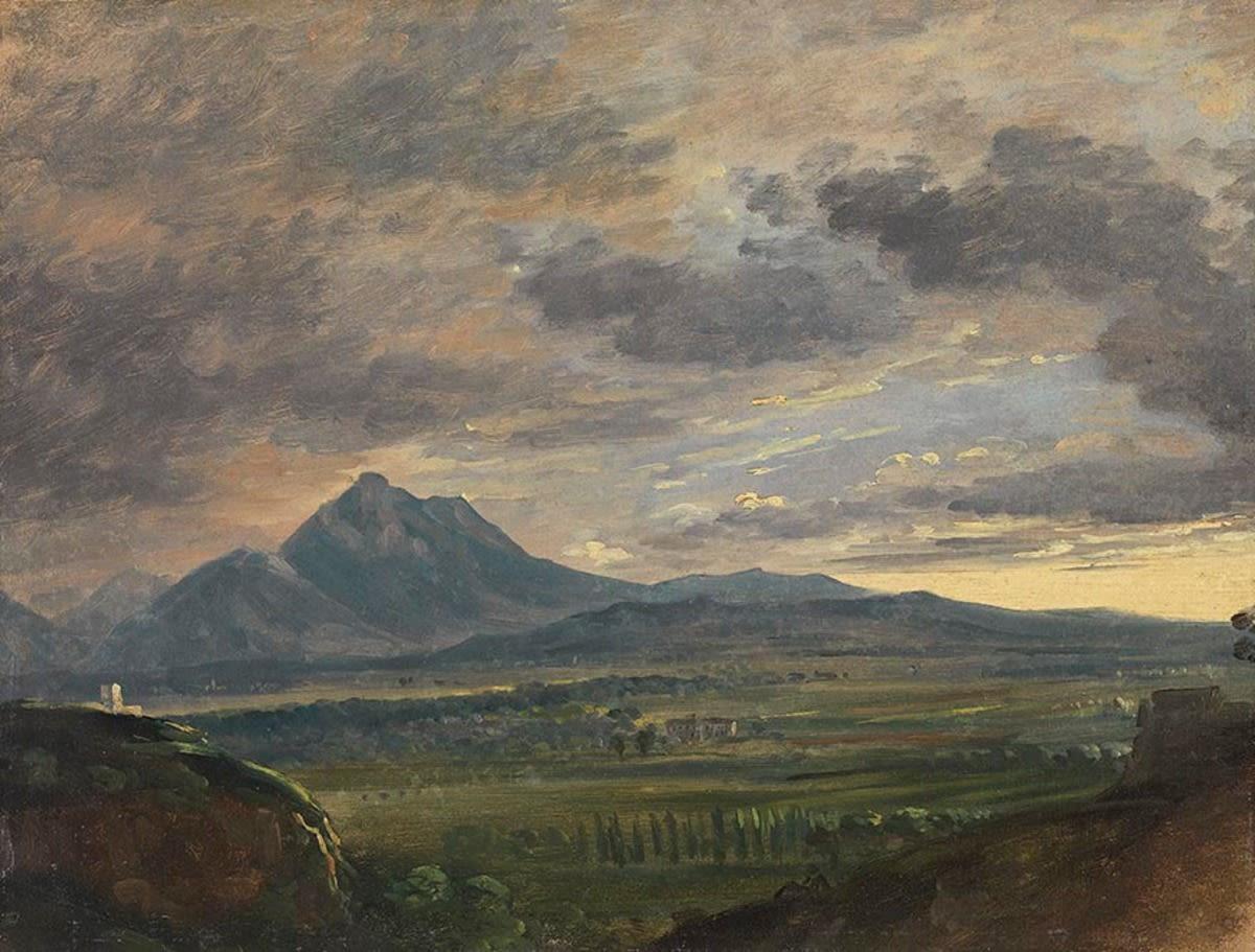 Der Hochstaufen bei Salzburg