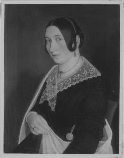 Bildnis einer Dame in Halbfigur