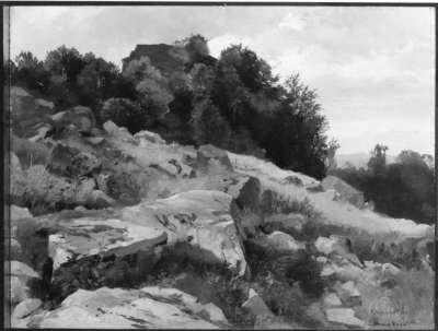 Rhönlandschaft, Milseburg