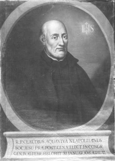 Neapolitanischer Jesuitengeneral Claudius Aquaviva
