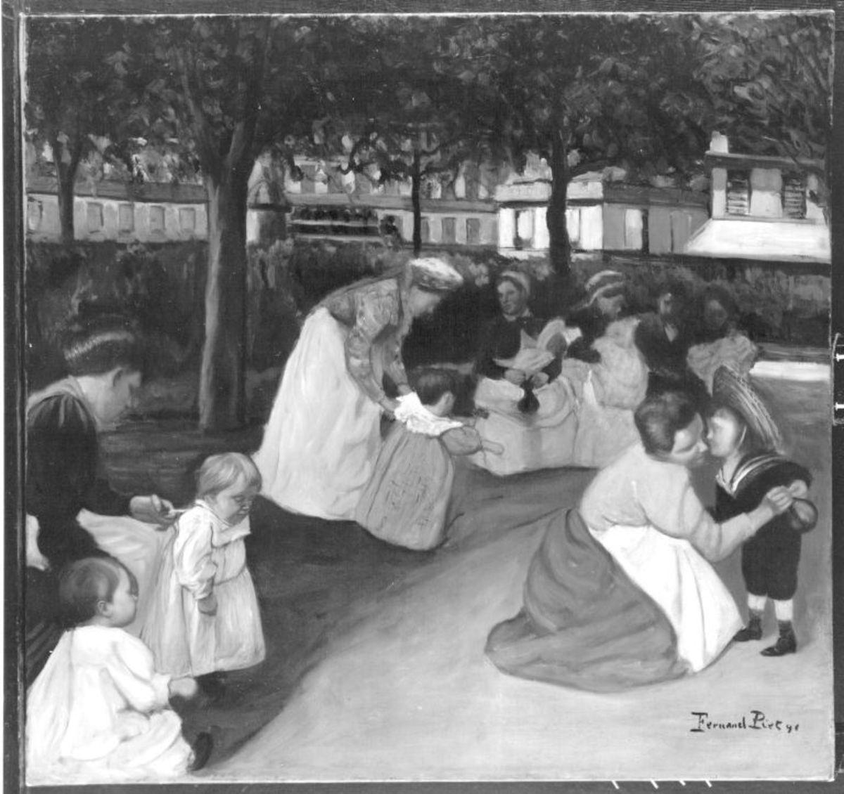 Au Square Montholon, Parc Monceau