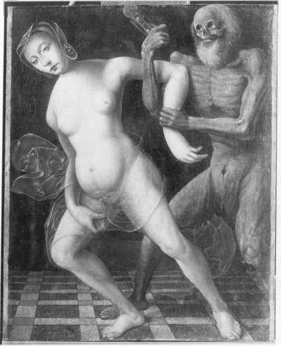 Das Weib und der Tod (Kopie nach Hans Baldung)