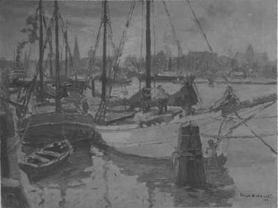 Segler im Stettiner Hafen